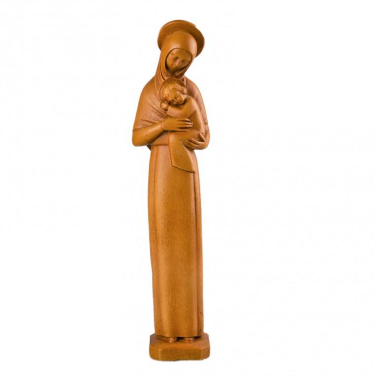 Vierge Mère Auréolée