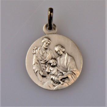 Médaille argent Sainte Famille
