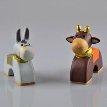 Âne et bœuf
