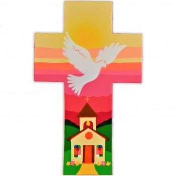 Saint Esprit au dessus de l'église