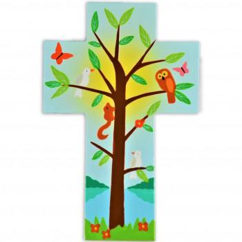 Croix avec arbre de vie