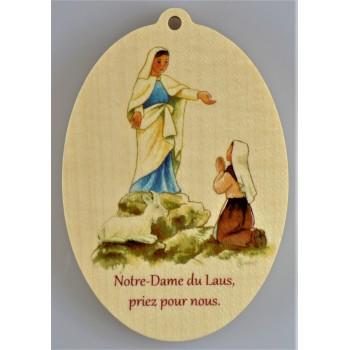 Notre-Dame du Laus priez...