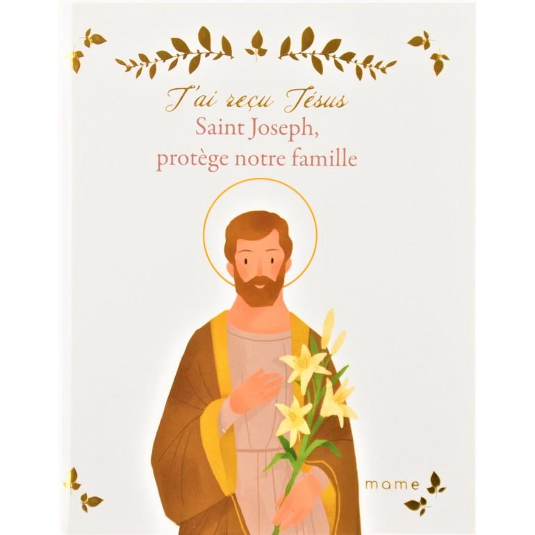J'ai reçu Jésus, Saint Joseph protège notre famille