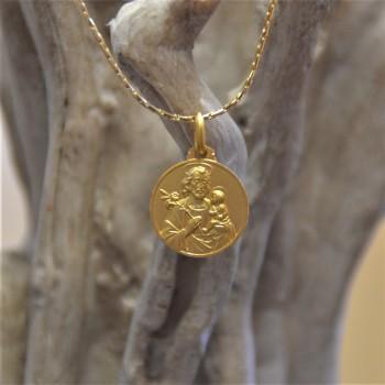 Médaille Saint Joseph en...