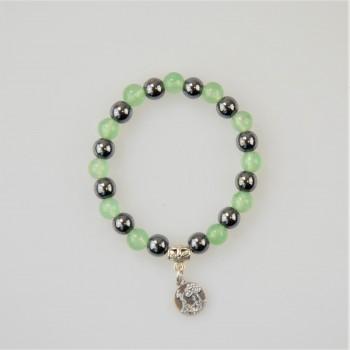 Bracelet Hématite et pierres