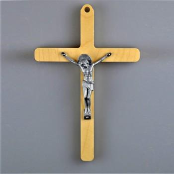 Petite croix Christ métal