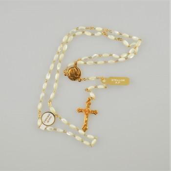Chapelet perle en Nacre