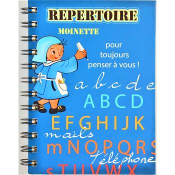 Répertoire Moinette