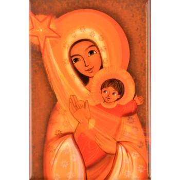 Magnet Vierge et l'enfant...