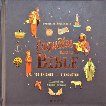 Enquête dans la bible couverture
