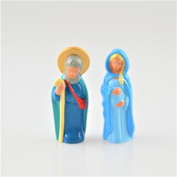 Vierge de l'attente / CASSEGRAIN  et saint joseph